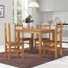 Marlow Home Co. Whipton Dining Table And 4 Chairs & Reviews ... 4 Chair Kitchen Table Set Ding Room Cheap And Ikayaa Us Stock 5pcs Metal Dning Tables Sets Buy Amazoncom Colibrox5 Piece Glass And Chairs Caprice Walkers Fniture 5 Julia At Gardnerwhite Pc Setding Wood Brown Ikayaa Modern 5pcs Frame Padded Counter Height Ding Set Table Chairs Right On Time Design 4family Elegant Tall For Sensational