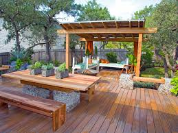 Patio And Deck Ideas For Small Backyards by Small Backyard Pergola Ideas Home Outdoor Decoration