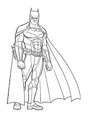 Batman Coloring Pages To Print And Printable