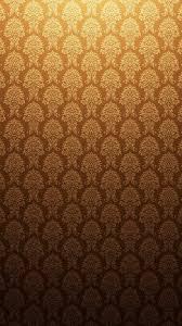 Brown Orange Baroque Texture Patterns iPhone 6 Plus HD Wallpaper