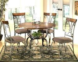 Round Dining Room Table With Leaf Wood Set Bed Alluring Small