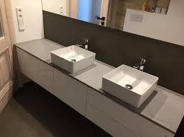 badezimmer beton arbeitsplatten handgemachte innenarchitektur ultra hochleistungsbeton hibeton hergestellt in litauen