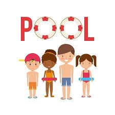Pool Party Enjoy Icon Vector Illustration Design