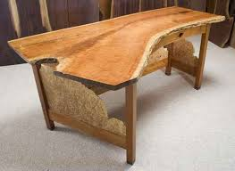 Image Of Creative Table Rustic Style Office