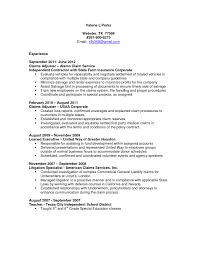 Brilliant Ideas Of Insurance Resume Objective Examples Simple Agent Life Sample