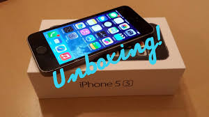 iPhone 5S 16GB T Mobile Unboxing