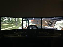 100 Euro Truck Simulator 3 Triple Screen Bezel Correction FOV Fisheye Effect SCS Software