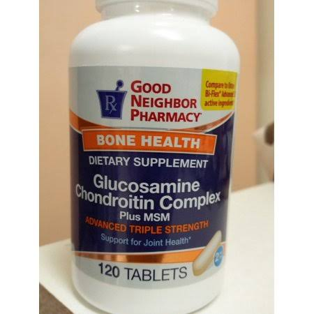 GNP Glucosamine Chondroitin Complex Plus MSM 120 Tablets