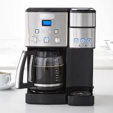 Cuisinart Coffee Center And Single Serve Brewer With Glass Carafe