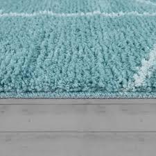 badematte kurzflor teppich für badezimmer mit rauten muster