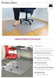 Hard Surface Office Chair Mat by Desk Chair Mat For Under Desk Chair Carpet Hard Plastic Mat For