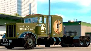 WW2 Peterbilt Pinup Style V1.5 | American Truck Simulator Mods ... Old Semi Truck Peterbilt Sentinel Concept Offers Classic Rise Of The 107 Mpg Supertruck Video More On 2017 389 Flattop Candice Cooleys 379 For American Simulator 2007 Freightliner Xl Showrooms Custom 359ex Home Decor Ideas Pinterest 1978 359 Wallpapers Trucks Android Apps Google Play Red Semitruck Pulling Unmarked White Stock Photo Semitrckn Kenworth Classic W900a Ex Semitrucks Displayed At Mid America Trucking Show Ky Which Is Better Or Raneys Blog