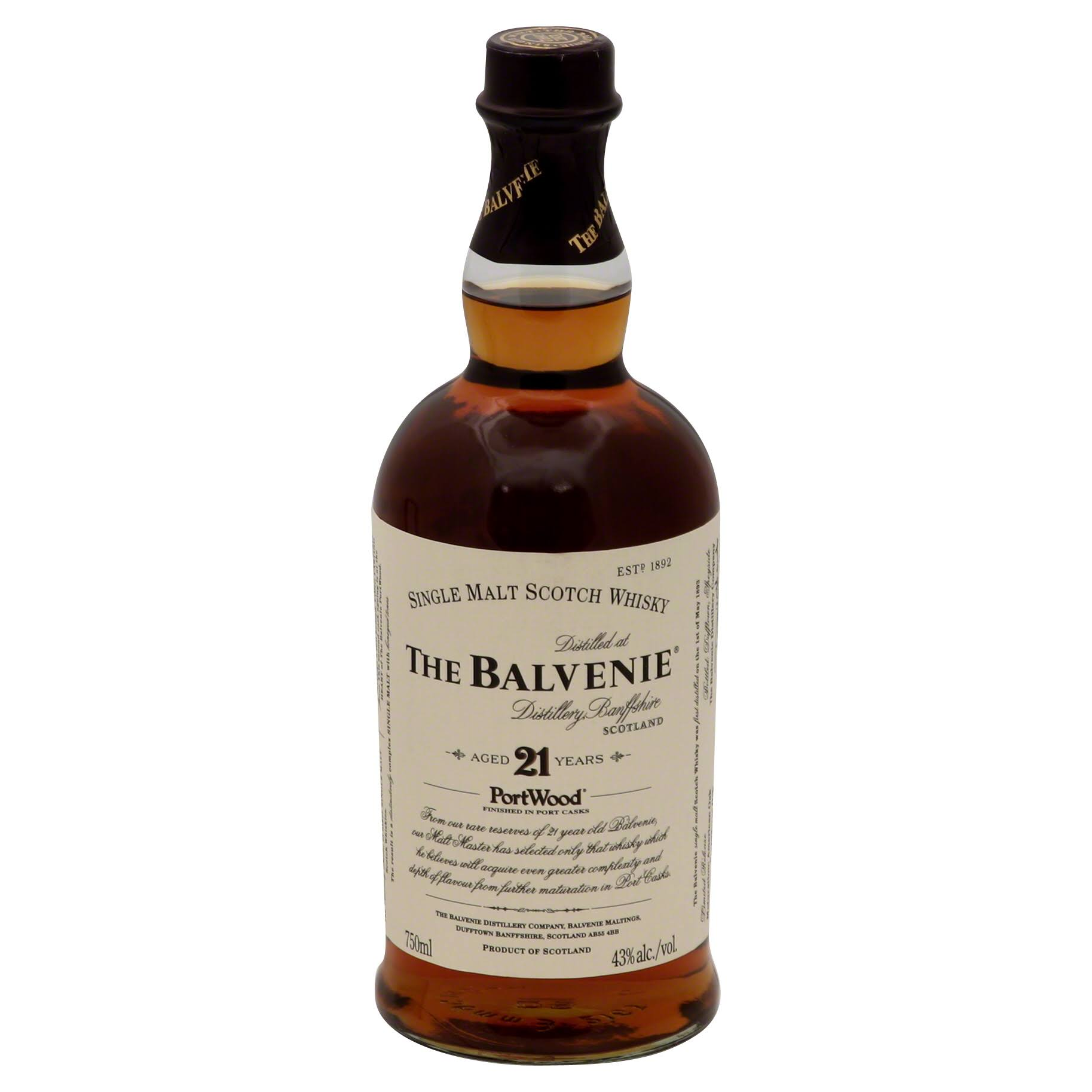 Balvenie Portwood Single Malt Scotch