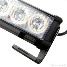 100 Lights For Trucks 24 LED Strobe Jeep SUV Cars 12V Universal Amber Waterproof Emergency Car Light Emergency Strobe Emergency Strobe