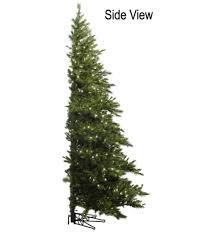 Raz Artificial Christmas Trees by 6 5 U0027 Pre Lit Westbrook Pine Artificial Half Wall Christmas Tree