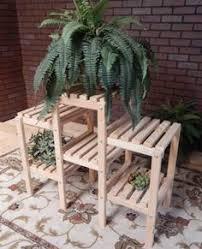 Outdoor Patio Plant Stands by New 6 Shelf Cypress Wood Indoor Outdoor Plant Stand Patio Flowers