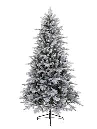 Pre Lit Flocked Christmas Tree Canada by 6ft Frosted Christmas Tree Rainforest Islands Ferry