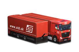 Truckbox Tandem Truck Promotional Gift Box