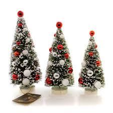 Christmas Scandinavian Bottle Brush Tree Decor