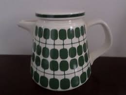 Image Is Loading Retro Vintage Melitta Germany Ceramic Tea Coffee Pot