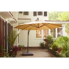 Solar Lighted Rectangular Patio Umbrella by Ideas Fantastic Offset Patio Umbrella For Patio Furniture Idea