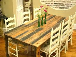 Build A Dining Room Table Dinning Plans Free