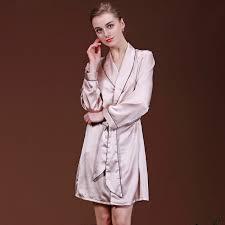 robe de chambre soie robe peignoir robes femmes maison robe femme imitation soie
