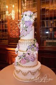 Purple Wedding Cake Toronto