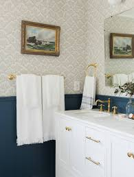 Bathroom Towel Bar Placement by The Styling Secret Of Wall Mounted Hooks Emily Henderson