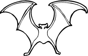 Download Coloring Pages Bat Page Free Printable For Kids Gallery
