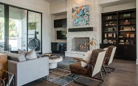 100 Hill Country Interiors Contemporary Austin Custom Home Family Rooms