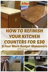 Best 25 Cheap Kitchen Makeover Ideas On Pinterest
