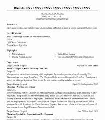 Undergraduate Resume Examples No Experience Sample Student Nurse General Objectives Similar Resumes Objective For College Students
