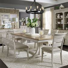 Farmhouse Reimagined Rectangular Dining Set W/ Upholstered ... Legacy Classic Larkspur Trestle Table Ding Set Farmhouse Reimagined Rectangular W Upholstered Amazoncom Cambridge Ellington Expandable 6 Arlington House With 4 Chairs Ding Table And Upholstered Chairs Magewebincom Liberty Fniture Harbor View Ii With Chair In Linen Middle Ages Britannica 85 Best Room Decorating Ideas Country Decor Cheap And Find