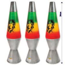 lava l rasta leaf party mood light nightlight retro decor