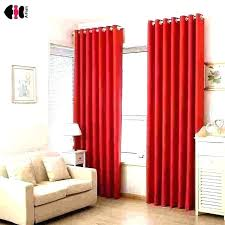 Red Curtains For Living Room Dining And