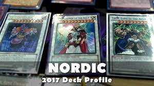 Top Ten Yugioh Decks 2017 by Nordic Deck Profile Summon A Norse God Yugioh January 2017