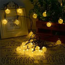 Romantic LED lighting Strings Christmas Crystal string lights