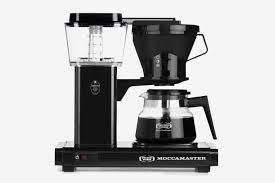 Technivorm Moccamaster 8 Cup Glass Carafe Coffee Brewer In Black At Bed Bath And Beyond