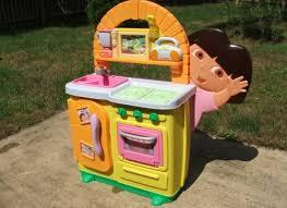 dora kitchen play set accessories utechpark
