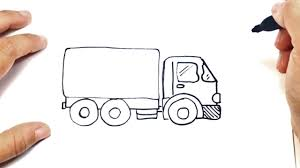 100 How To Draw A Truck Step By Step To Draw A By Ing Lesson YouTube