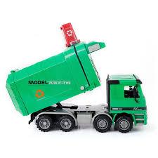 100 Waste Management Toy Garbage Truck Disposal Play Trash Fun Boy Kids