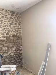 mur intérieur enduit à la chaux beauvir