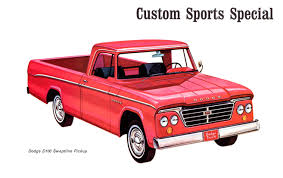 1965 Dodge (including Dodge Truck) Division Line-Up From The ... 1965 Dodge D100 Beater By Tr0llhammeren On Deviantart Kirby Wilcoxs Short Box Sweptline Pickup Slamd Mag Hot Rod Network A100 5 Window Keep On Truckin Pinterest File1965 11304548163jpg Wikimedia Commons D700 Flatbed Truck Item A6035 Sold February Nickelanddime Diesel Power Magazine Used Truck Emblems For Sale High Tonnage Gasoline Series C Ct Sales Brochure Vintage Intertional Studebaker Willys Othertruck Searcy Ar Ford With A Ram Powertrain Engine Swap Depot