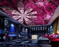 beibehang wand papier europäischen luxus kunst blumen decke dach tapete wandmalereien design wohnzimmer decke dekorative tapete