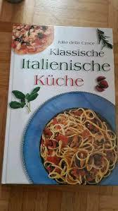 kochbuch klassische italienische küche