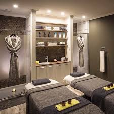 Love The Idea Of Having Showers In Room To Clean Off After A Body Treatment
