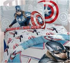 4 Piece Captain America Bedding Full Sheets Set – Superhero Sheets