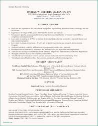 Sample Resume For New Graduate Registered Nurse Grad Nursing Examples