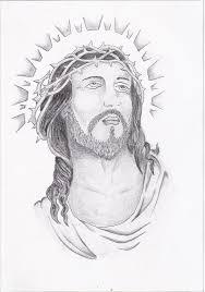 Barbed Jesus Tattoo Sketch Photo